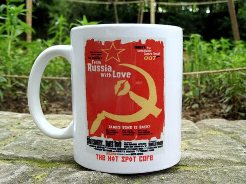 "'FROM RUSSIA WITH LOVE"" Mug"