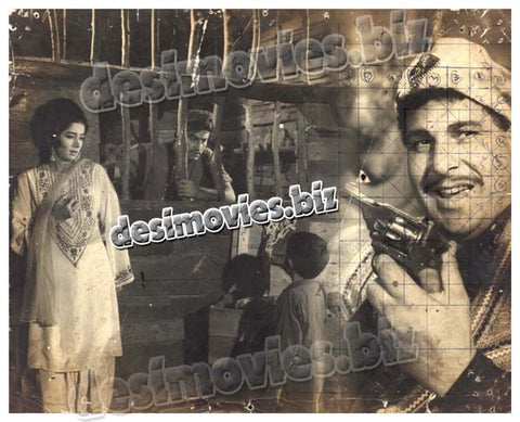Mujhey Jeene Do (1968) Lobby Card Still -4