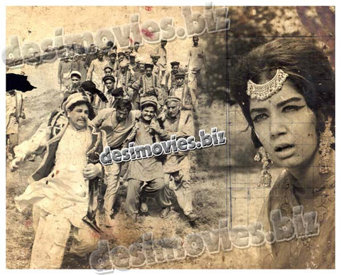 Mujhey Jeene Do (1968) Lobby Card Still -6