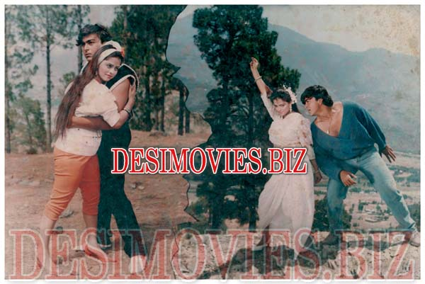 Nagina (1990) Lollywood Lobby Card Still 2