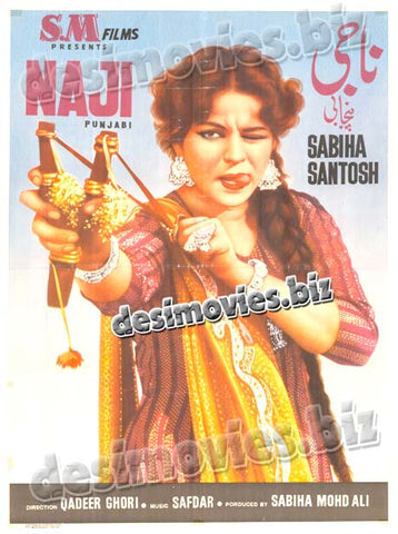Naaji (1959)  Lollywood Original Poster A