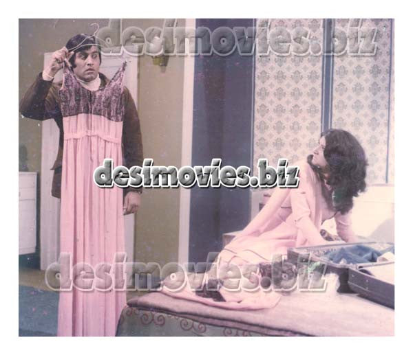 Namak Harram (1974) Lollywood Lobby Card Still