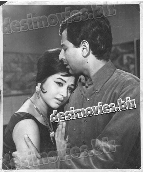 Nazneen (1969) lollywood Lobby Card Still F