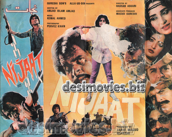 Nijaat (1987) Lollywood Original Booklet