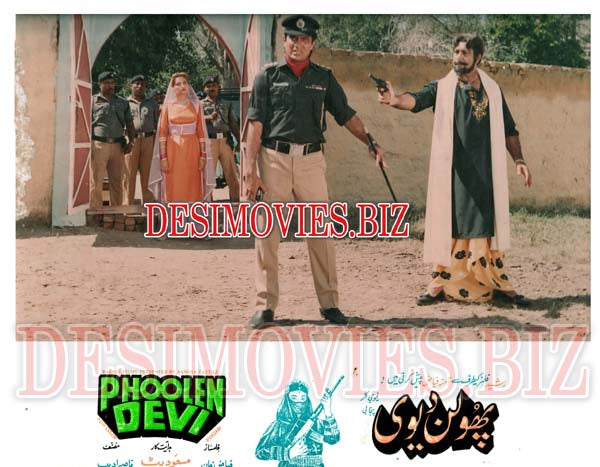 Phoolen Devi (1989) Lollywood Lobby Card Still