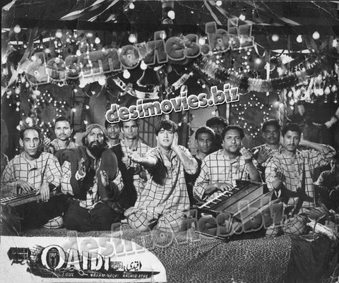 Qaidi (1962) Lobby Card Still 1