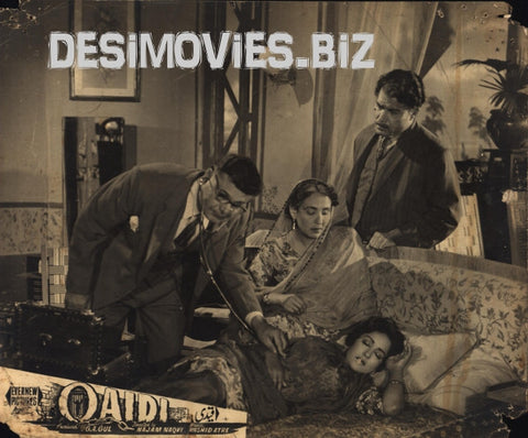 Qaidi (1962) Lobby Card Still F
