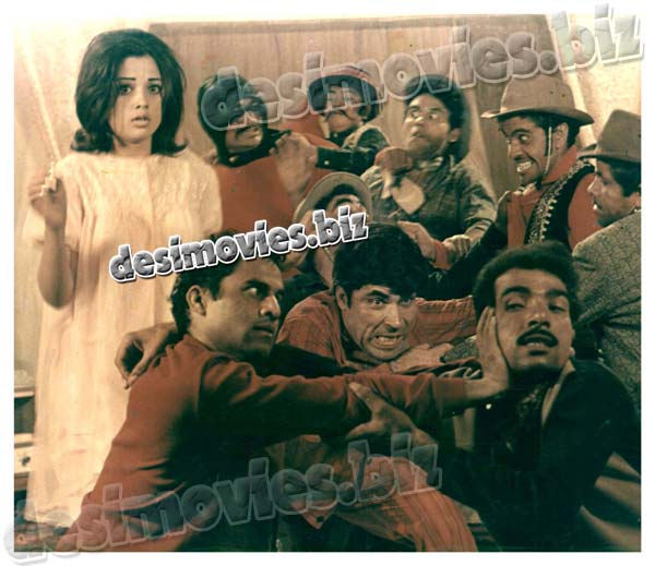 Rangeela (1970) Lollywood Lobby Card Still