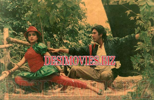 Rangeelay Jasoos (1989) Lollywood Lobby Card Still 1