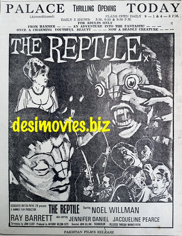 Reptile, The (1966) Press Advert - Opening Today (1967)