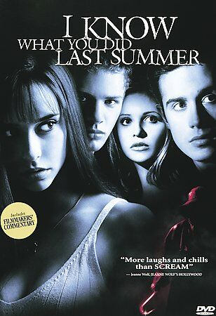 I Know What You Did Last Summer DVD Region 1