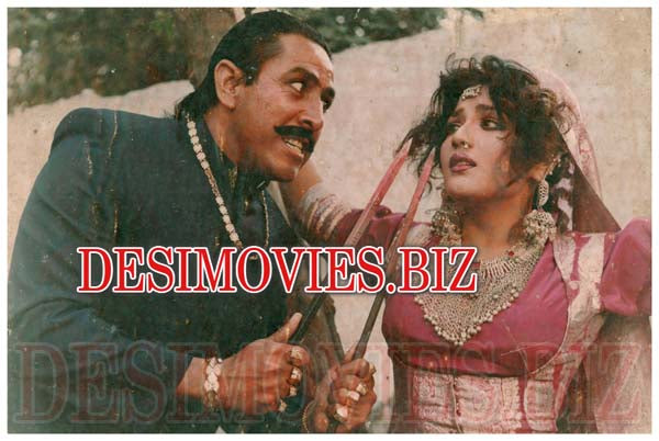 Sapni (1993) Lollywood Lobby Card Still 13