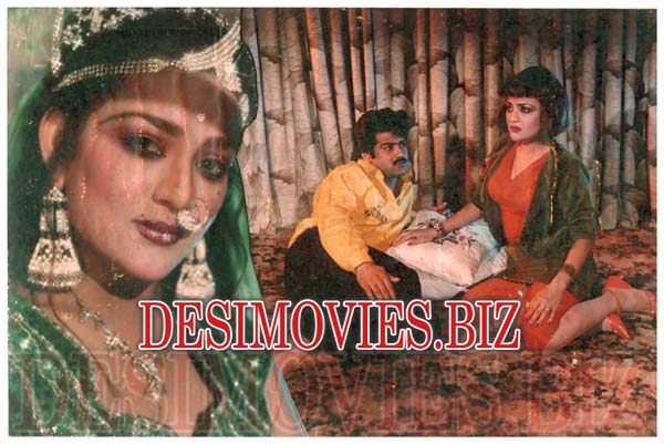 Sapni (1993) Lollywood Lobby Card Still 10