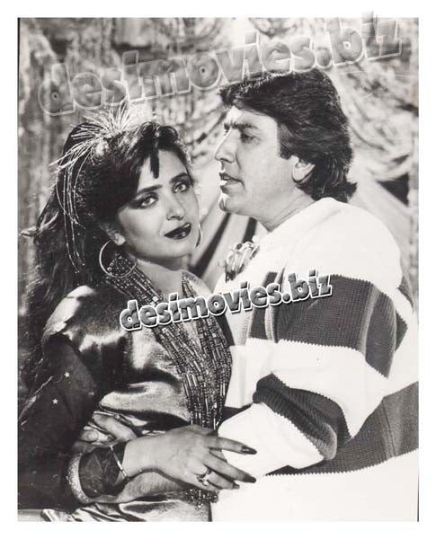 7 Khoon Muaf (1991) Lollywood Lobby Card Still 3