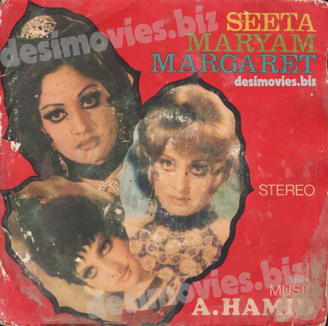 Seeta, Maryam, Margreat (1978) - 45 Cover