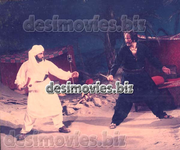 Shah Zaman (1991)  Lollywood Lobby Card Still A