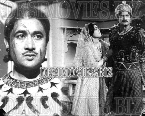 Shahanshah Jahangir (1968) Lollywood Lobby Card Still 1