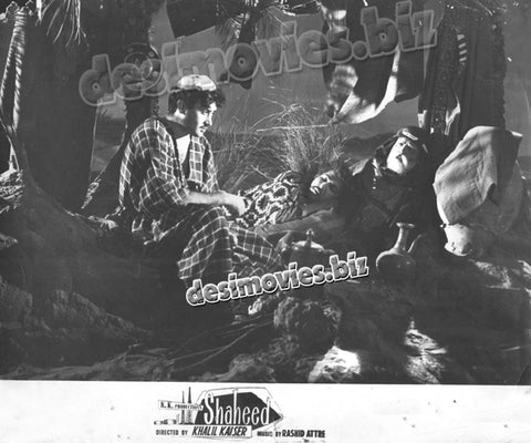 Shaheed (1962) Lollywood Lobby Card Still F