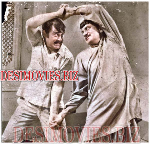 Sidha Rasta (1974)  Lollywood Lobby Card Still 1