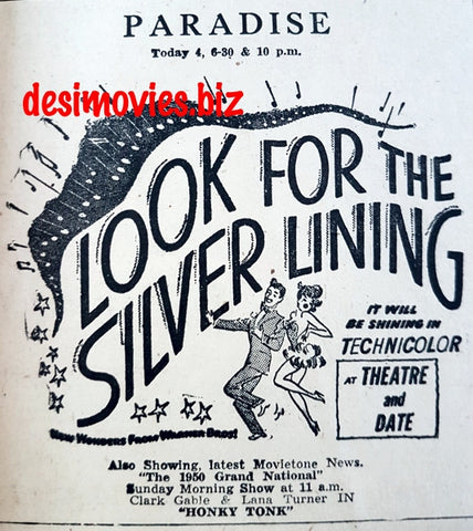 Looking For The Silver Lining (1949) Press Advert.
