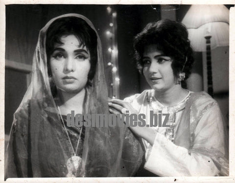 Asmat (1968) Husna & Zeba still - Lollywood Stars