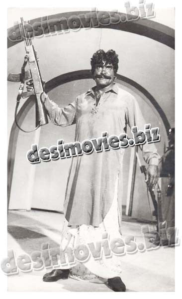 Sultan Rahi the Legend Hero (1956-1996) Lollywood Lobby Card Still-12