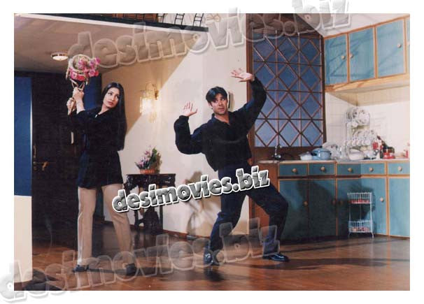 Uf Yeh Beevian (2001) Lollywood Lobby Card Still 3