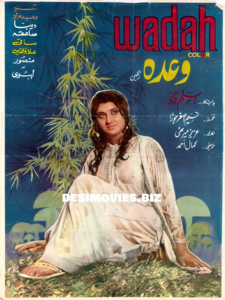 Wadah (1976) Lollywood Original Poster