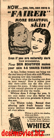 Whitex (1947) Press Advert 1947