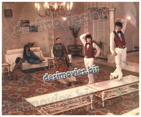 Yeh Zamana aur Hay (1981)  Lollywood Lobby Card Still 4