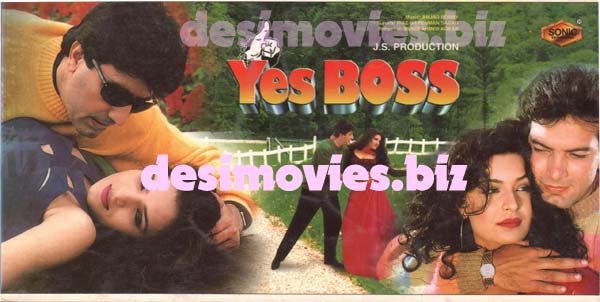 Yes Boss (1997) Lollywood Original Booklet