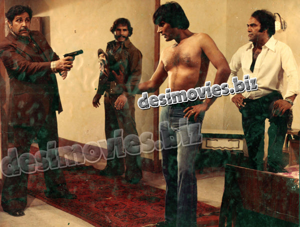 Zalzala (1987) Lollywood Lobby Card Still 1