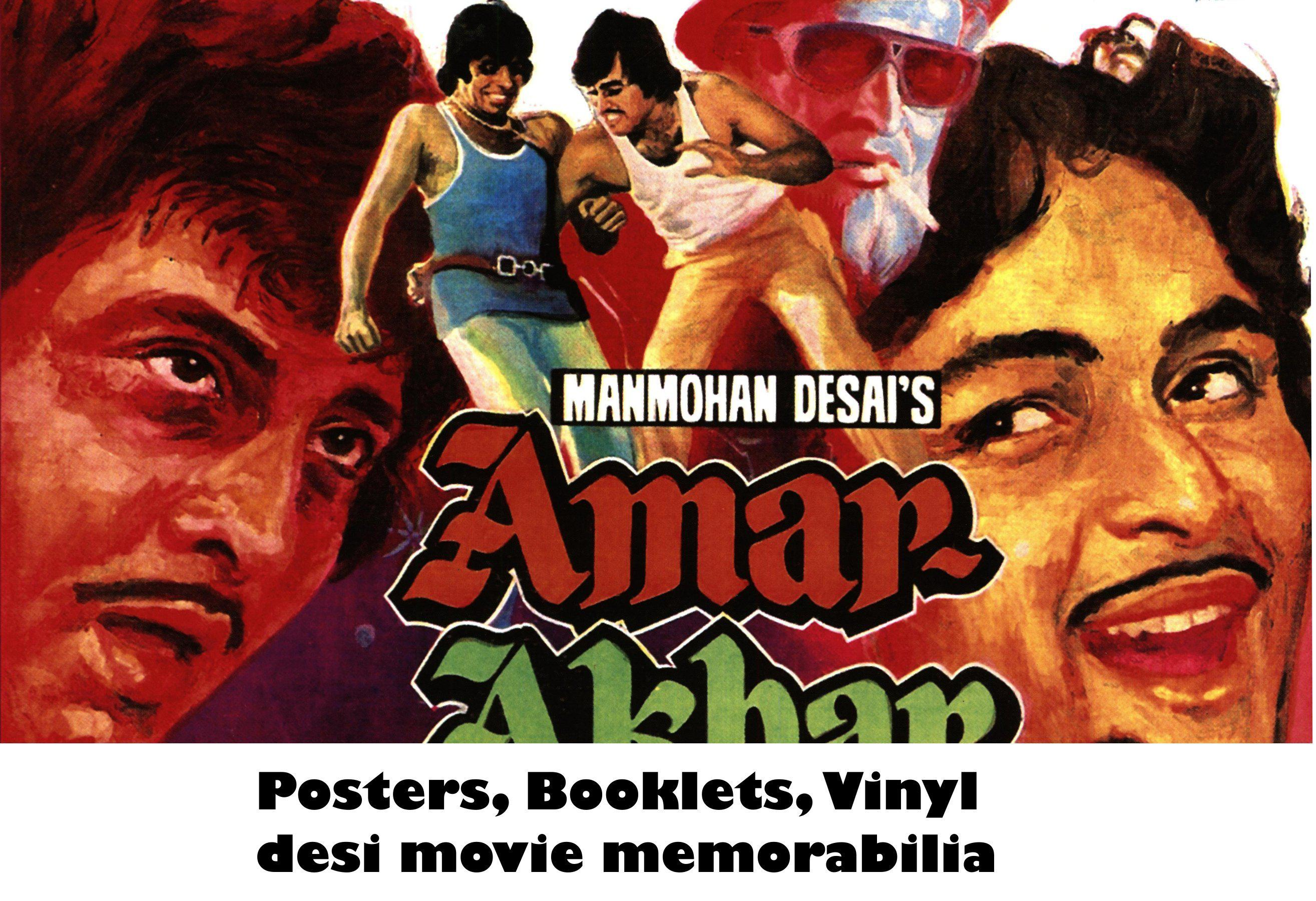 Rare Desi Movie Posters & Art