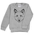 Just Call Me Fox Sweatshirt (Grey)