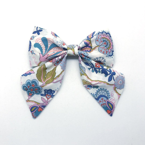 "Oversized Bow | Liberty of London ""Mabelle"""