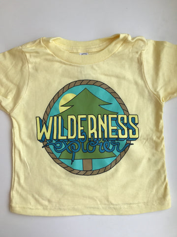 Wilderness Explorer Tee - Yellow