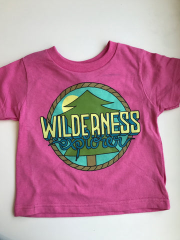 Wilderness Explorer Tee - Hot Pink