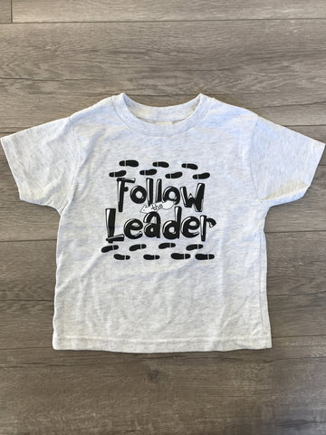 Follow the Leader Tee - Grey