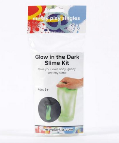 Messy Play Singles- Glow in the dark Slime