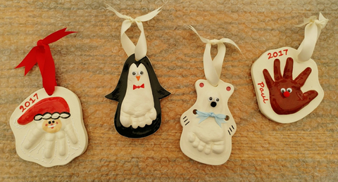 Ceramic Christmas Ornaments with Clayful Keepsakes - Nov 28, 2018