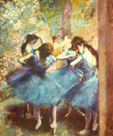 Degas- Dancers in Blue