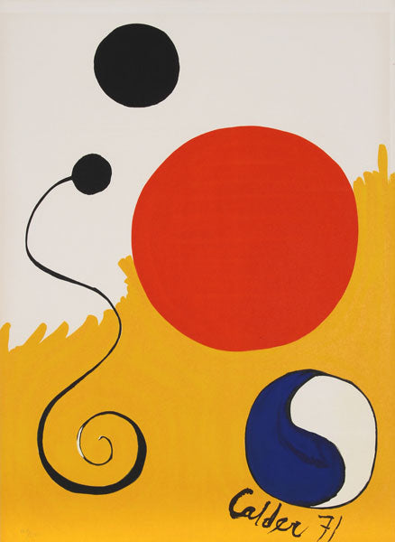 Alexander Calder - For Young Artists, 1971