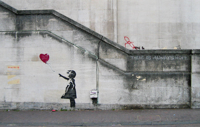Banksy - There is always Hope