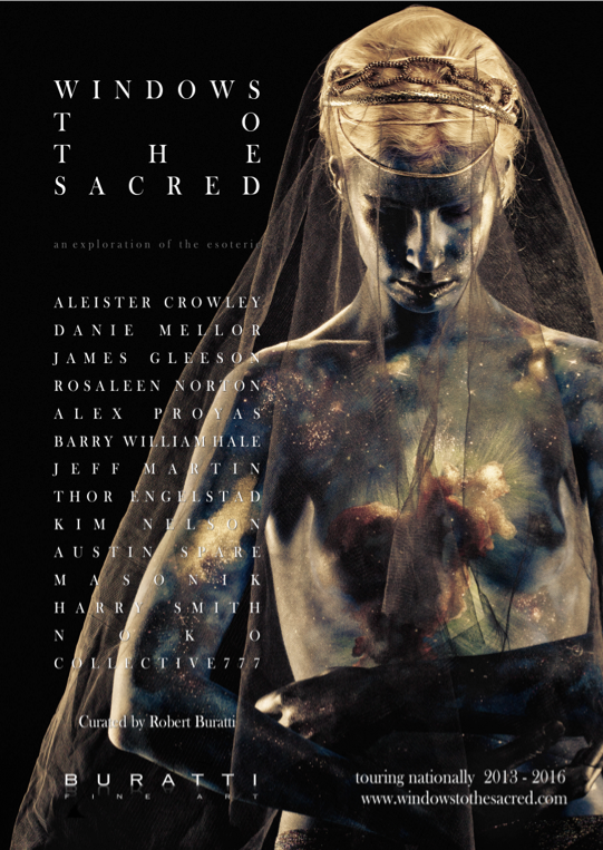 Windows to the Sacred- Exhibition poster
