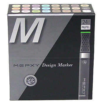 Mepxy Design Marker Set 24