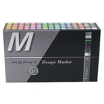 Mepxy Design Marker Set 60