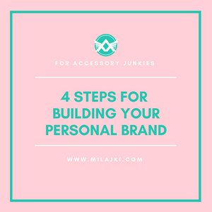 4 STEPS FOR BUILDING YOUR PERSONAL BRAND 💎 💎 💎