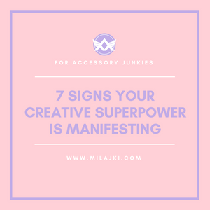 7 SIGNS YOUR CREATIVE SUPERPOWER IS MANIFESTING 💎 💎 💎