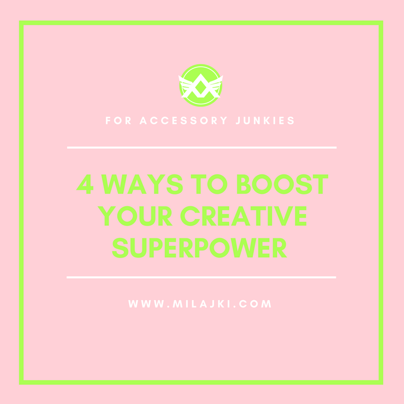 4 WAYS TOO BOOST YOUR CREATIVE SUPERPOWER 💎 💎 💎
