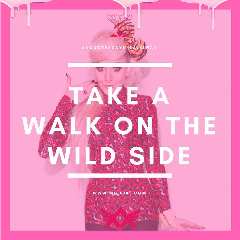 TAKE A WALK ON THE WILD SIDE 💎👌🏻🐾🐯🌈💕🌴💕